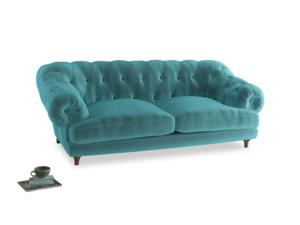 Large Bagsie Sofa in Belize clever velvet