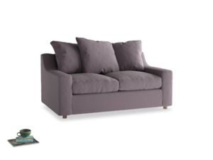 Small Cloud Sofa in Lavender brushed cotton