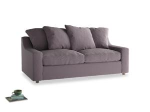 Medium Cloud Sofa in Lavender brushed cotton