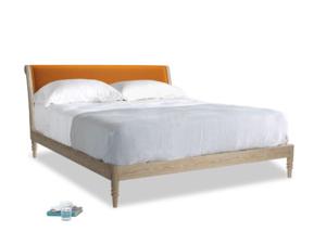 Superking Darcy Bed in Spiced Orange clever velvet