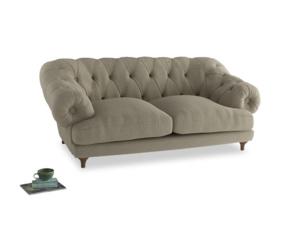 Medium Bagsie Sofa in Jute vintage linen