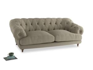 Large Bagsie Sofa in Jute vintage linen