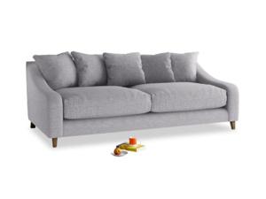 Large Oscar Sofa in Storm cotton mix