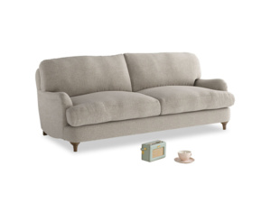 Medium Jonesy Sofa in Birch wool