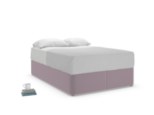 Double Store Storage Bed in Lavender brushed cotton