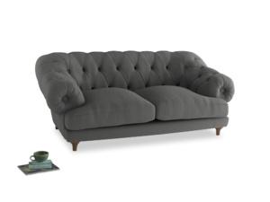 Medium Bagsie Sofa in French Grey brushed cotton