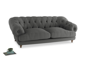 Large Bagsie Sofa in French Grey brushed cotton