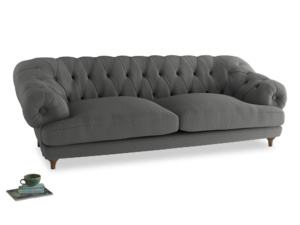 Extra large Bagsie Sofa in French Grey brushed cotton