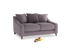Small Oscar Sofa in Lavender brushed cotton