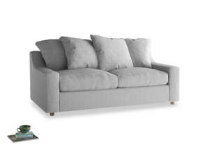 Medium Cloud Sofa in Cobble house fabric