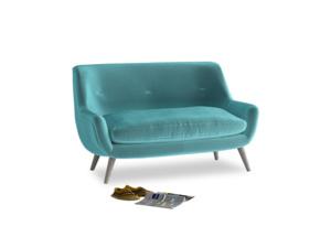 Small Berlin Sofa in Belize clever velvet