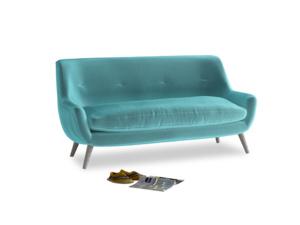 Medium Berlin Sofa in Belize clever velvet