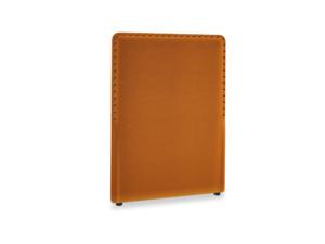 Single Smith Headboard in Spiced Orange clever velvet
