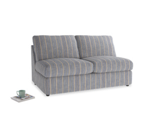 Chatnap Sofa Bed in Brittany Blue french stripe