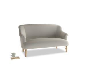 Medium Sweetie Sofa in Smoky Grey clever velvet