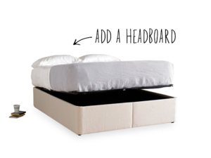 Store bed base with handy storage space