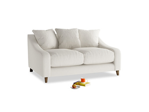 Small Oscar Sofa in Oyster white clever linen