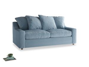 Medium Cloud Sofa in Chalky blue vintage velvet