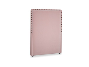 Single Smith Headboard in Chalky Pink vintage velvet
