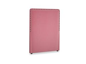 Single Smith Headboard in Blushed pink vintage velvet