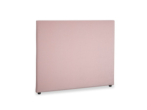 Double Piper Headboard in Chalky Pink vintage velvet