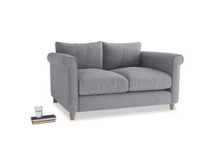 Small Weekender Sofa in Dove grey wool