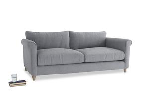 Large Weekender Sofa in Dove grey wool