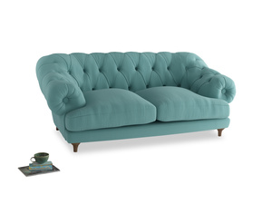 Medium Bagsie Sofa in Kingfisher clever cotton