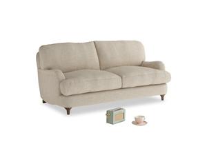 Small Jonesy Sofa in Flagstone clever woolly fabric