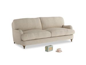 Medium Jonesy Sofa in Flagstone clever woolly fabric