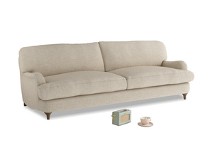 Large Jonesy Sofa in Flagstone clever woolly fabric