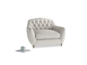 Love Seat Butterbump Love Seat in Moondust grey clever cotton