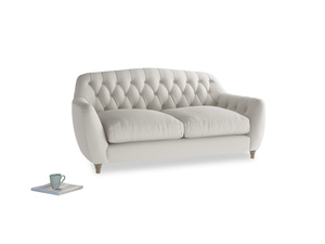 Medium Butterbump Sofa in Moondust grey clever cotton