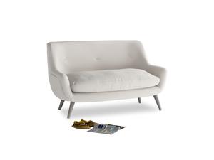 Small Berlin Sofa in Chalk clever cotton