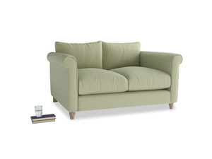 Small Weekender Sofa in Old sage washed cotton linen