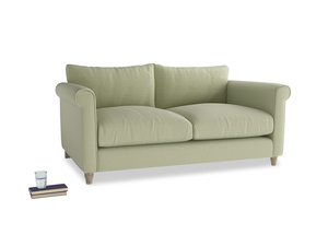 Medium Weekender Sofa in Old sage washed cotton linen