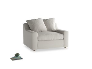 Cloud Love seat in Moondust grey clever cotton