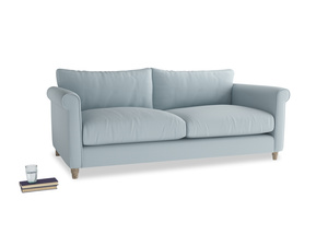 Large Weekender Sofa in Scandi blue clever cotton