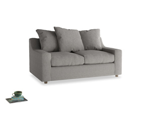 Small Cloud Sofa in Marl grey clever woolly fabric