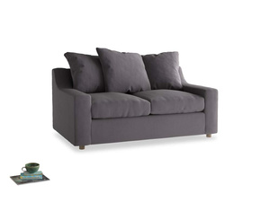 Small Cloud Sofa in Graphite grey clever cotton