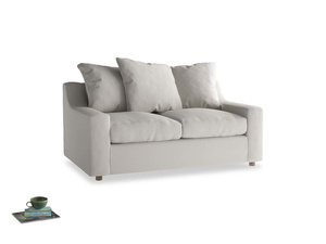 Small Cloud Sofa in Moondust grey clever cotton