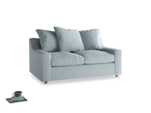 Small Cloud Sofa in Scandi blue clever cotton
