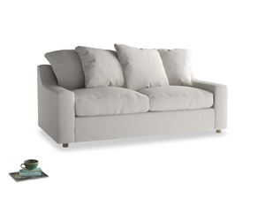 Medium Cloud Sofa in Moondust grey clever cotton