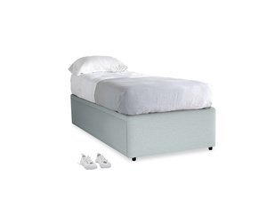 Single Friends Trundle Bed in Duck Egg vintage linen