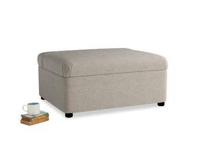 Single Bed in a Bun in Birch wool