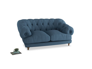 Small Bagsie Sofa in Easy blue clever linen