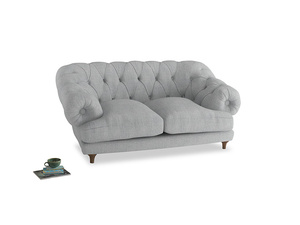 Small Bagsie Sofa in Pebble vintage linen