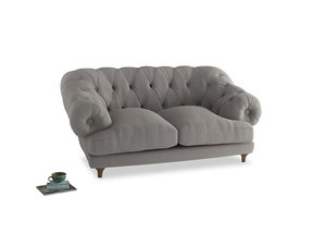 Small Bagsie Sofa in Wolf brushed cotton