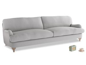 Extra large Jonesy Sofa in Flint brushed cotton