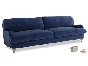 Extra large Jonesy Sofa in Ink Blue wool